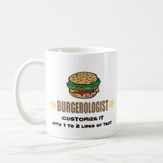 Funny Hamburger Classic White Coffee Mug