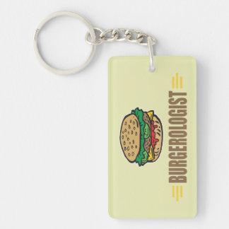 Funny Hamburgers Keychain