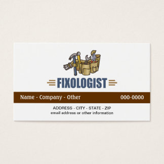 Funny Handyman Business Card