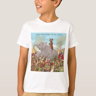 Funny Hannibal Barca Conquers Land T-Shirt