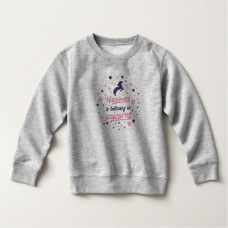 Funny Happiness is Believing in Unicorn Sweatshirt