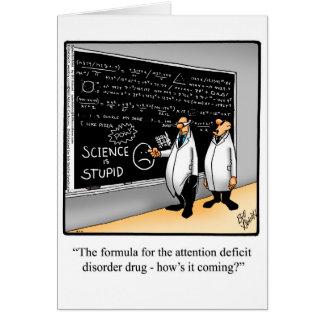 Funny Happy Chemistry Week Greeting Card