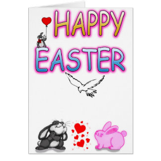 Funny Happy Easter Greeting Card