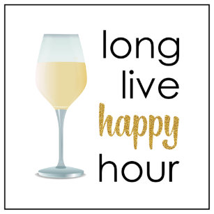 Happy Hour Quote Gifts on Zazzle CA