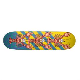 Funny Happy Lobster Skateboard Deck