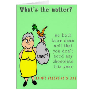 Funny Happy Valentine's Day Card