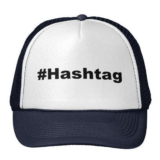 Funny Hashtag Mesh Hat