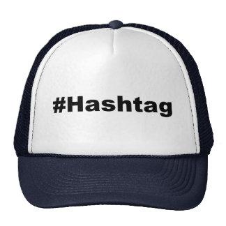 Funny Hashtag Mesh Hat