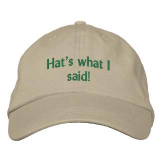 Funny Hat Baseball Cap