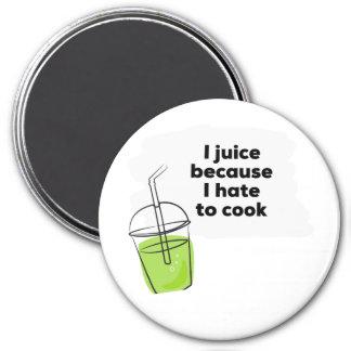 Funny Healthy Vegan Diet Juicing Cleanse Magnet