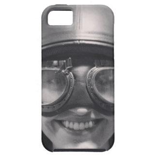 funny helmet iPhone 5 case