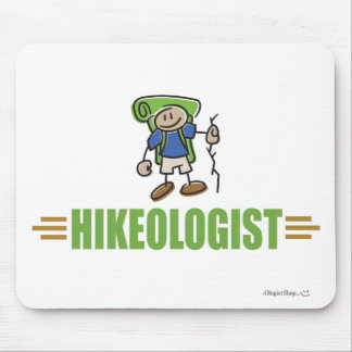 Funny Hiking Mouse Pad