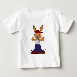 Funny Hip Hop Bunny Rabbit Baby T-Shirt