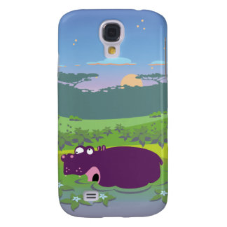 Funny Hippo Galaxy S4 Covers