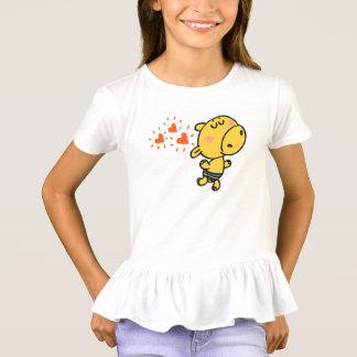 funny hippo children animals cartoon T-Shirt