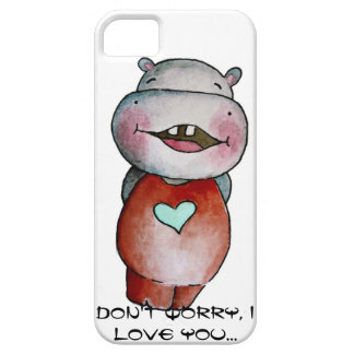 Funny Hippo iPhone5 Case