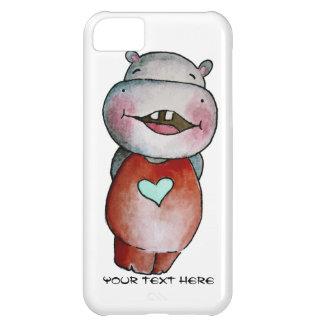 Funny Hippo iPhone 5c Case