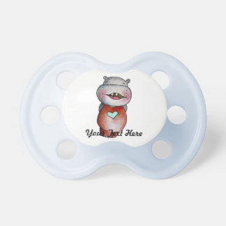 Funny Hippo Pacifier