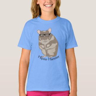 Funny Hipster Hamster Tee Shirt