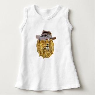 Funny Hipster Lion Dress