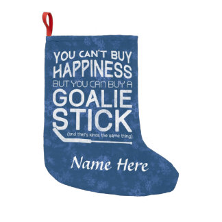 Funny Hockey Goalie Christmas Stocking Customize