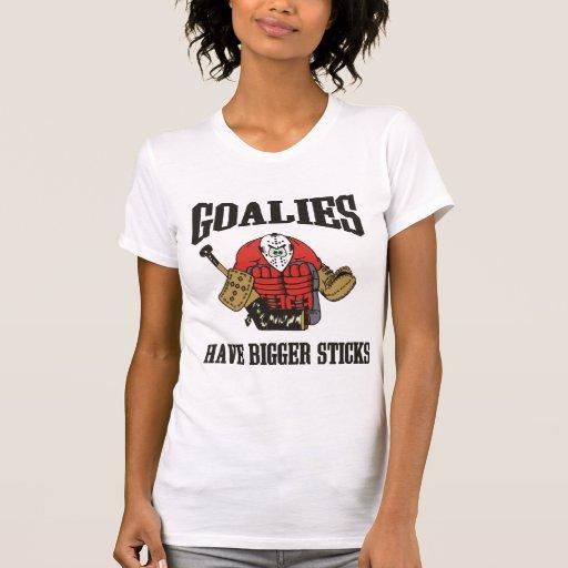 Hockey Goalie Typography T Shirt Funny Hockey Goalie T Shirt
