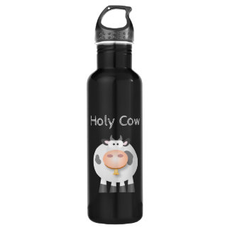 Funny Holy Cow It's Your Birthday Cute 710 Ml Water Bottle