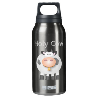 Funny Holy Cow It's Your Birthday Cute Insulated Water Bottle