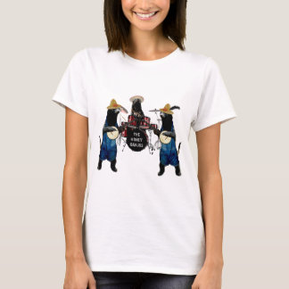 Funny Honey Badger Band T-Shirt