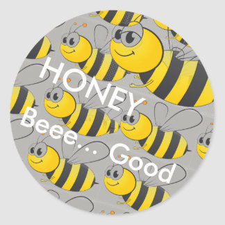 Funny Honey Bee Good Stickers For Kids