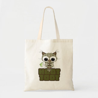 Funny Hoot Toot Cute Farting Owl Canvas Bags