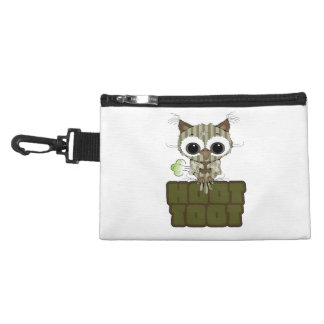 Funny Hoot Toot Cute Farting Owl Accessory Bag