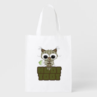 Funny Hoot Toot Cute Farting Owl Market Tote