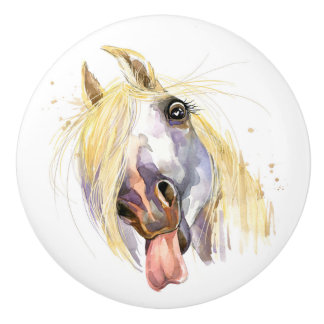 Funny Horse Drawer Knobs