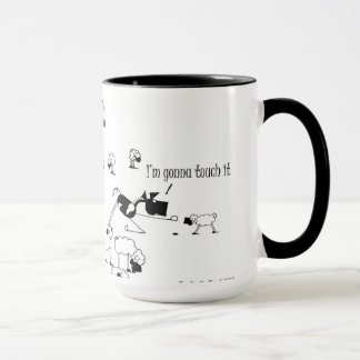 Funny Horse & Sheep Cartoon Mug