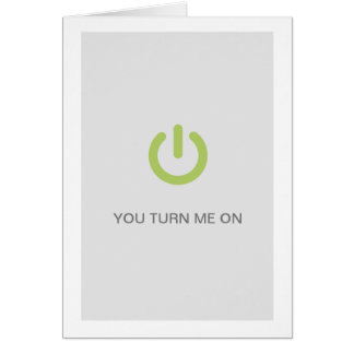 Funny hot button Card