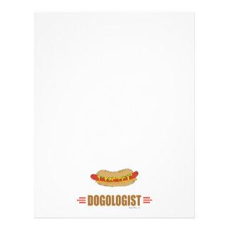 Funny Hot Dog Flyer Design