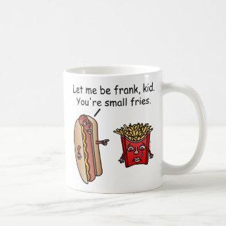 Funny Hot Dog French Fries Food Pun Classic White Coffee Mug