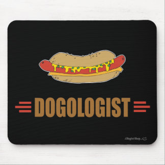 Funny Hot Dog Mouse Pad