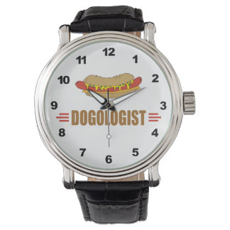 Funny Hot Dog Wrist Watches