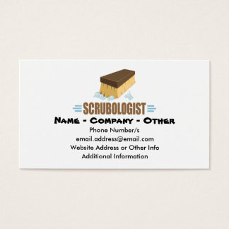 Funny House Keeping Business Card
