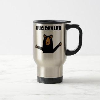 Funny Hug Dealer Black Bear Travel Mug