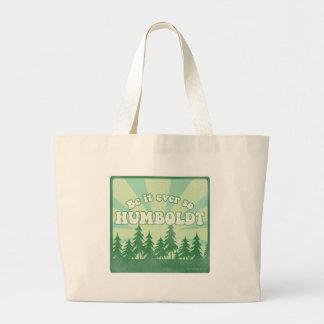 Funny Humboldt County Jumbo Tote Bag