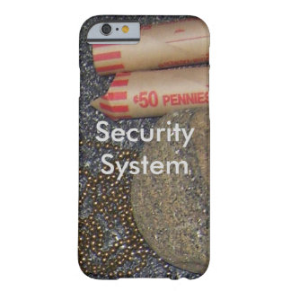 Funny Humor Security Fun Ingenuity Humorous Jokes Barely There iPhone 6 Case