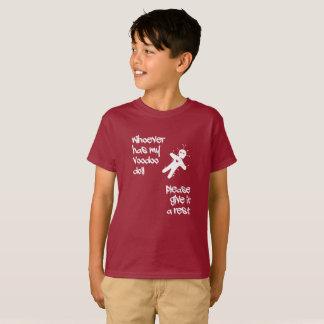 Funny humor. Voodoo Doll Halloween T-Shirt