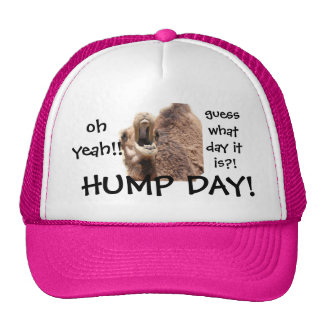 Funny Hump Day Camel Baseball Cap, Oh Yeah!! Trucker Hat