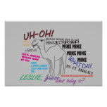 Funny Hump Day Poster