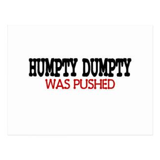 Funny Humpty Dumpty Postcard