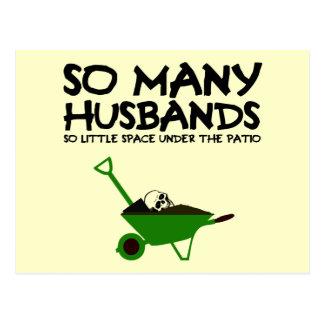 Funny husband postcard