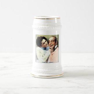 Funny Husband Wife Vintage Humor Beer Stein